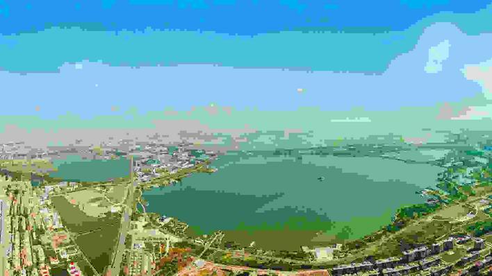 __湖湖相连现美景